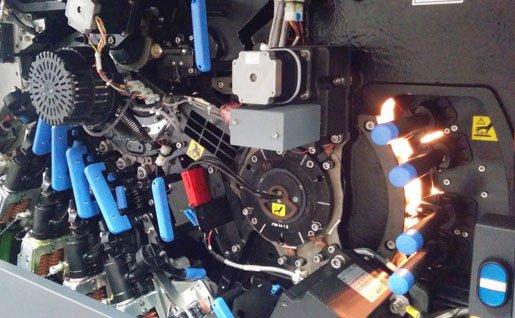 Les presses HP Indigo à encre liquide